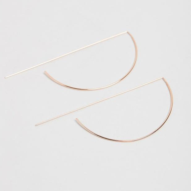 Arcadia Rose Gold Earrings