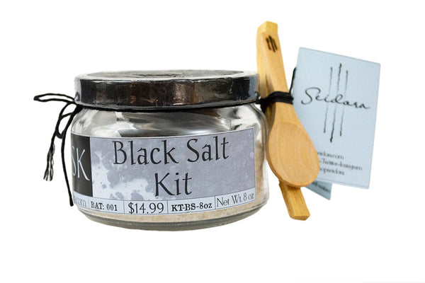 Black Salt Kit 8oz - Seidora