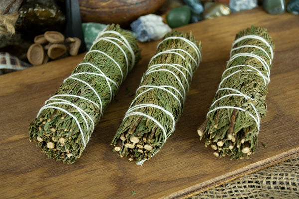 Cedar Smudge Stick Wands - Seidora