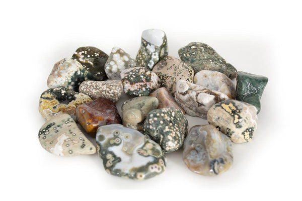 "Ocean Jasper 1-2"" Tumbled: You Pick Set 1 - Seidora"