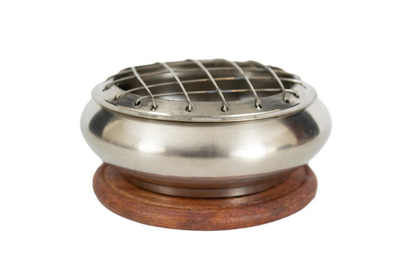 Silver Screen Charcoal Burner - Seidora