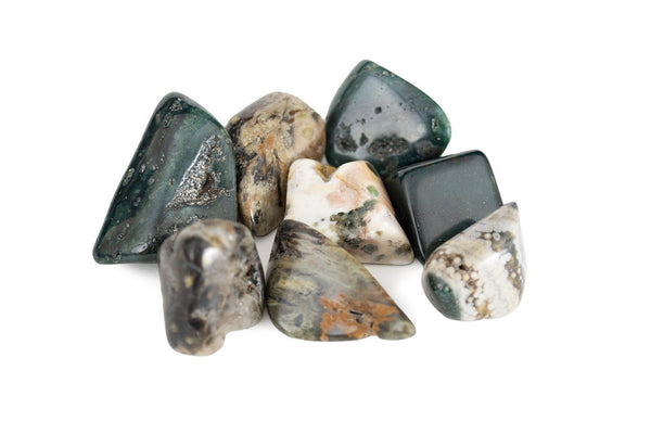 Ocean Jasper Tumbled: You Pick - Seidora
