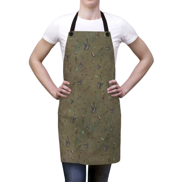 Earth Witch: Herbs Apron - Seidora