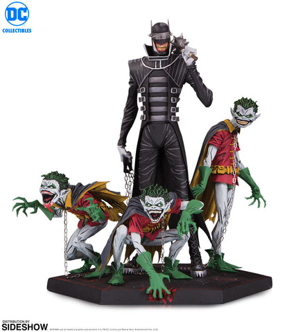 Dc Comics The Batman Who Laughs & Robin Minions Deluxe Limited Edition Statue