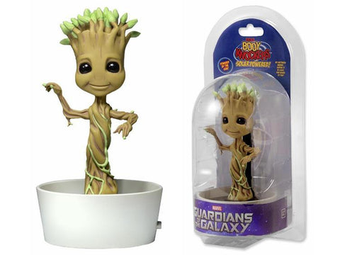 Neca Body Head Knocker Groot Maceta Solar >Baila de verdad