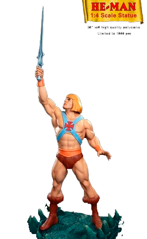 He man Pop Culture Shock Prop Replica AAA escala 1/4