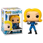 Funko pop 4 Fantásticos invisible girl