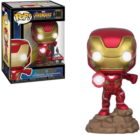 Funko Pop Avengers Iron man Exclusive luces
