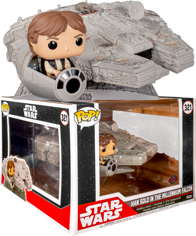 Funko Pop Exclusivo Star Wars Halcon Milenario