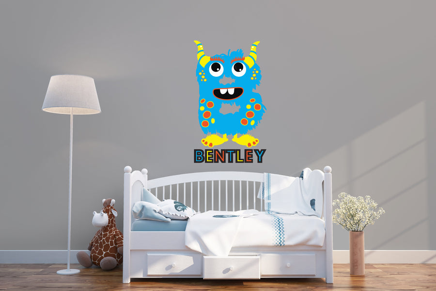 Monster Personalized Name | Wall Decal
