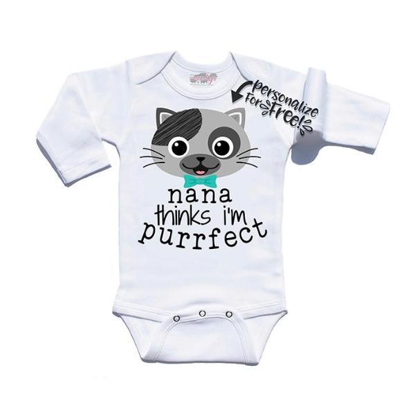 I'm Purrfect Personalized | Infant Boy