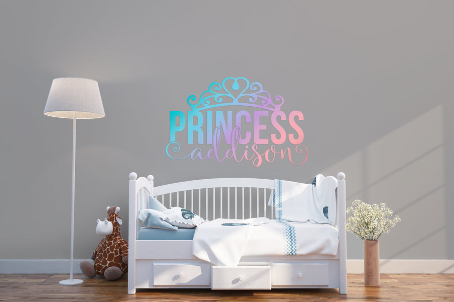 Princess Personalized Name | Wall Decal