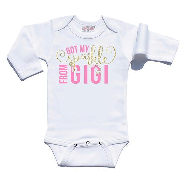 Baby Clothes - Got My Sparkle From GIGI Infant Bodysuit