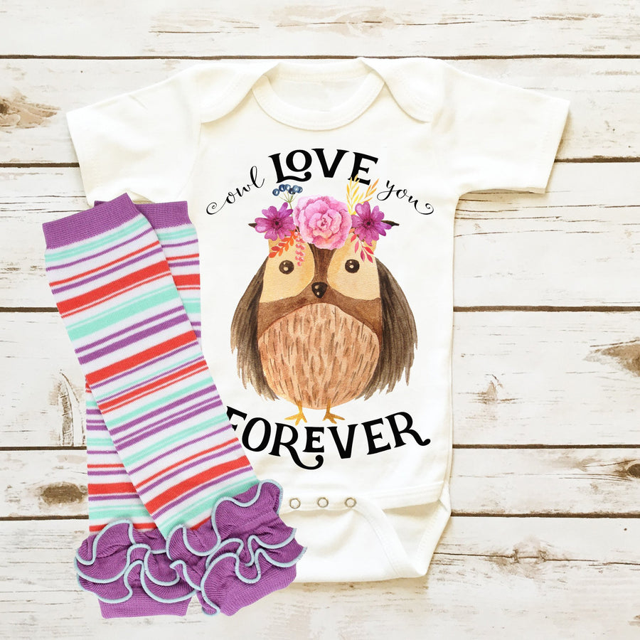 Owl Love You Forever| Infant Girl - Cassidy's Closet - 2