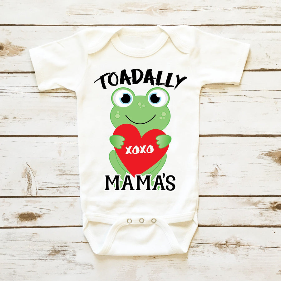 Baby Clothes - Toadally Yours Personalized Valentine| Infant Boy