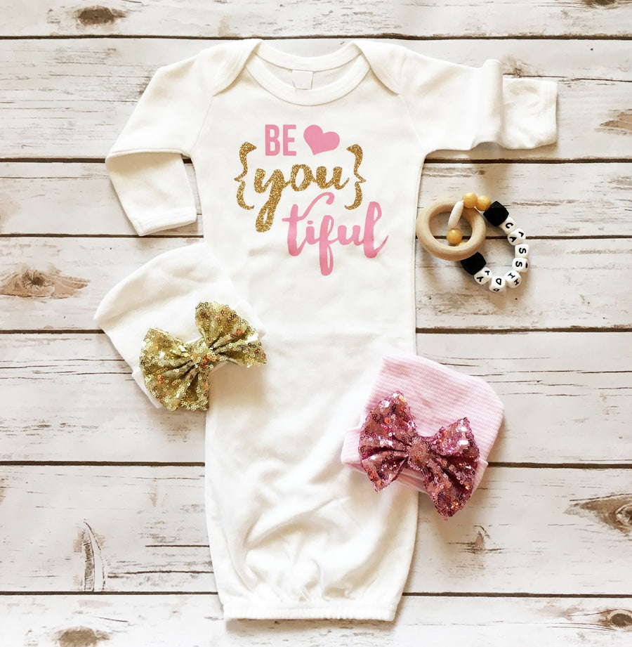 Be {YOU} tiful Baby Gown - Cassidy's Closet