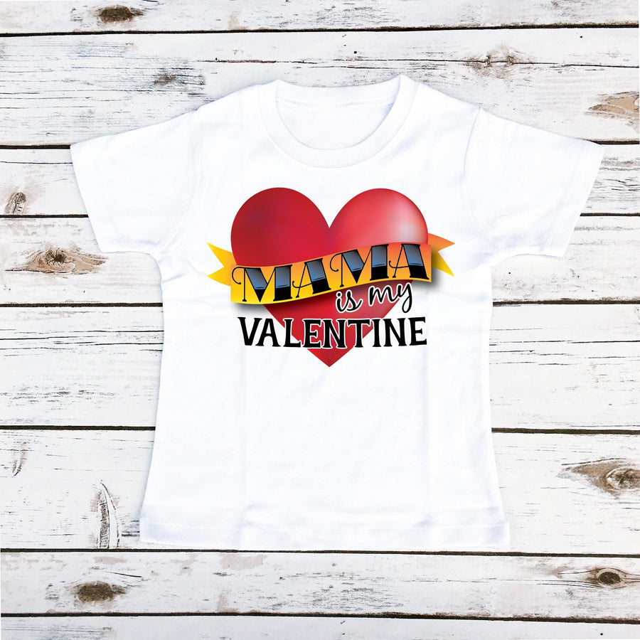 Mama Is My Valentine | Boy's Shirt - Cassidy's Closet