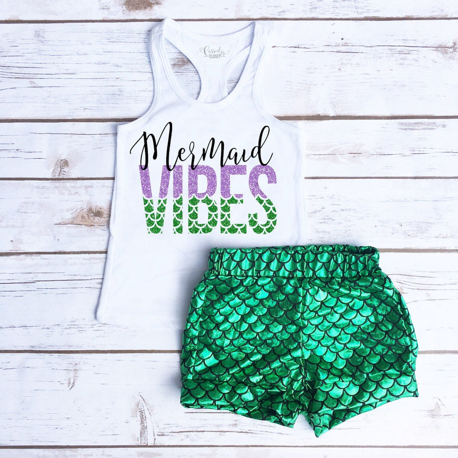 Mermaid Vibes | Girl's Outfit - Cassidy's Closet - 1