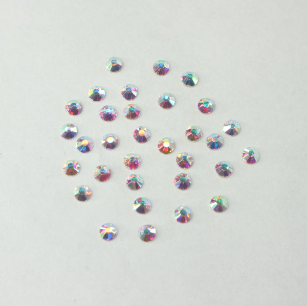 Nail Art - Flat back Crystals (Clear)