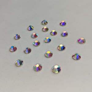 Nail Art - Flat back Crystals Large (AB)