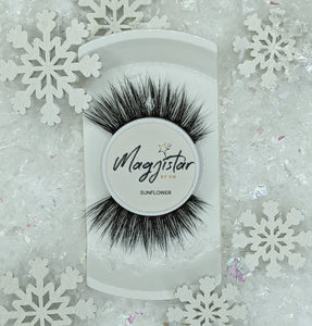 Synthetic Lashes - Sunflower (3D)