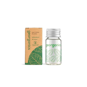 Hilo Dental Vegano de Menta · Georganics - HILO DENTAL - [ ble ]