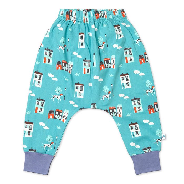 House Pattern Joggers