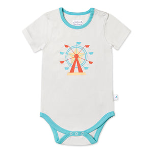 Short Sleeved Ferris Wheel Bodysuit