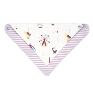 Reversible Organic Cotton Bandana Bib
