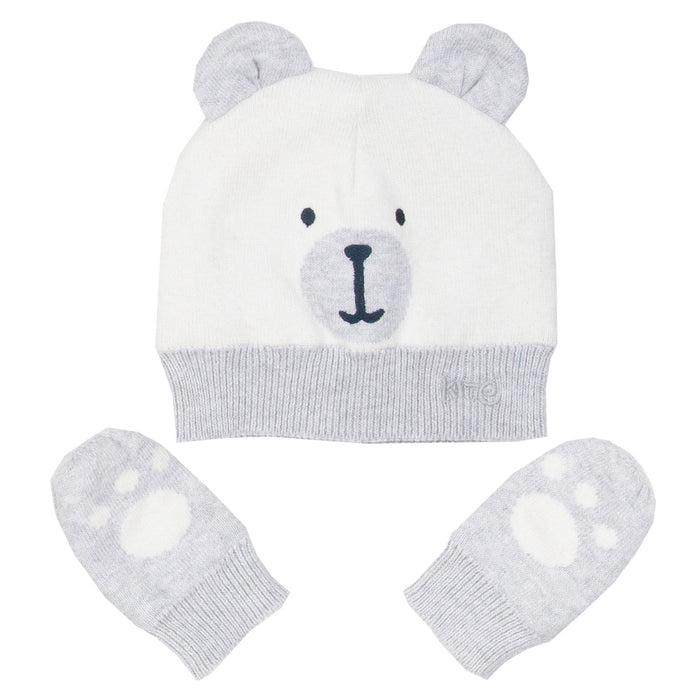 Beary hat and mitts