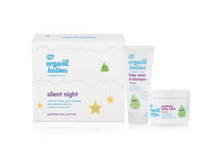 ORGANIC BABIES SILENT NIGHT GIFT SET