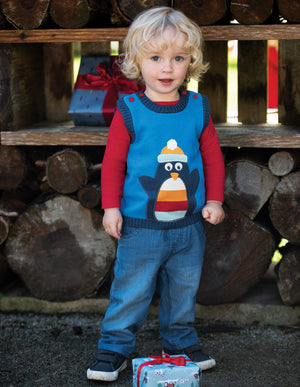 Hank Knitted Tank Top - Only size 18-24 months left!