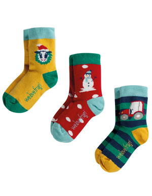 Rock My Socks 3 Pack - Only size UK6-8 left!