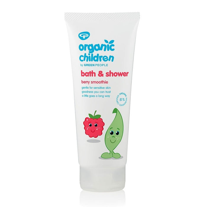 ORGANIC CHILDREN BATH & SHOWER - BERRY SMOOTHIE 200ML