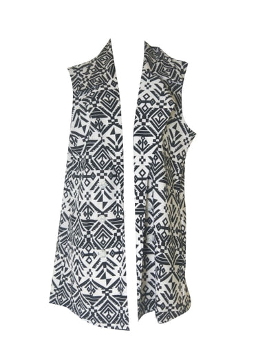 U-First - Shadow Printed Vest - ZUV16297
