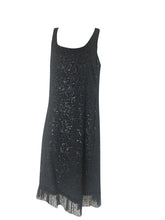 Load image into Gallery viewer, Boo Radley - Sequin Black Dress - S143518