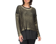 Load image into Gallery viewer, Hammock & Vine - Bronze knit jumper - H30165