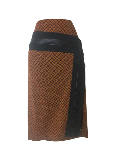 SaoPaulo - Burnt orange Skirt - 313.3014