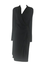 Load image into Gallery viewer, SaoPaulo - Black Wrap style dress -  313.4018
