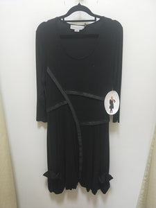 Holmes & Fallon - Black Dress - HF789
