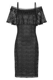 ANA ALCAZAR - CARMEN DRESS BLACK FRANCISKA - 045685.2296