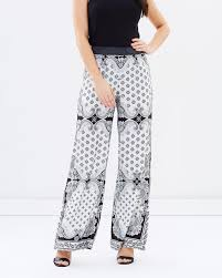 Honey & Beau - Rios Scarf Pants - HP163004