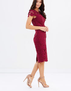 Pink Ruby - Uptown Lace Dress - PD171005