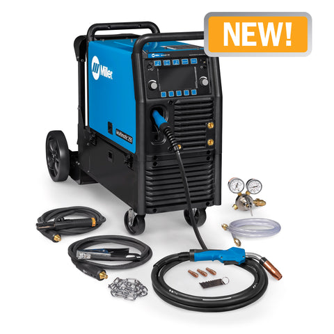 Multimatic® 255 Multiprocess Welder w/ EZ-Latch™ Running Gear- 208-575V