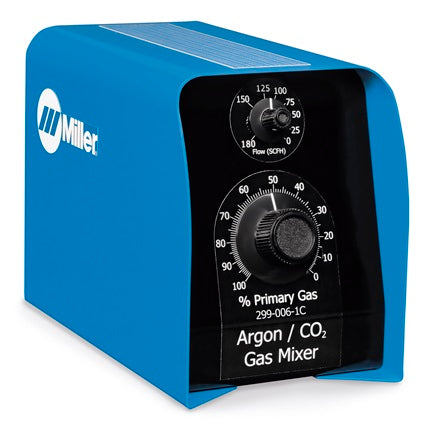 Proportional two-gas mixer, Argon/Co2