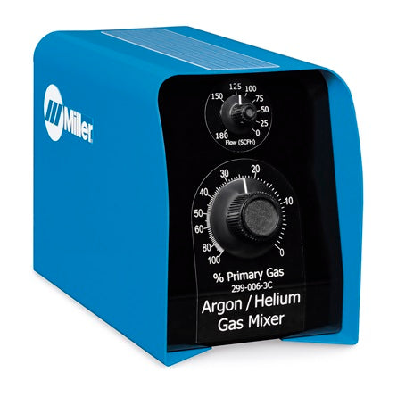 Proportional two-gas mixer, Argon/Helium