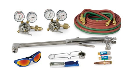 HD Straight torch acetylene outfit, CGA510