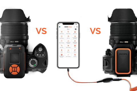 Differences between MIOPS Smart+, RemotePlus and Mobile Dongle