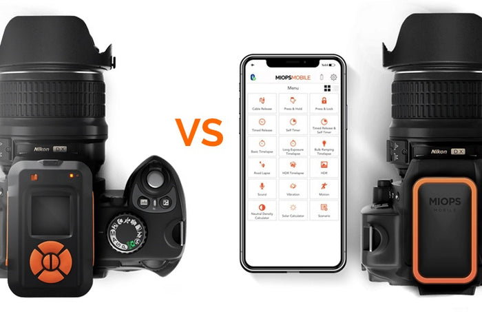 What is the Difference Between MIOPS Smart Trigger and Mobile Remote?