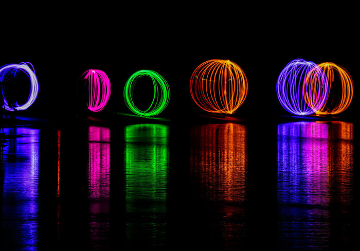 How to Make Light Painting Orbs